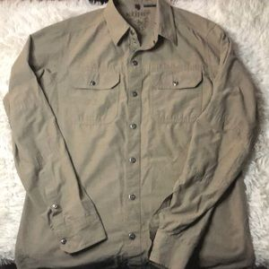 Kuhl long sleeve collared hiking button up